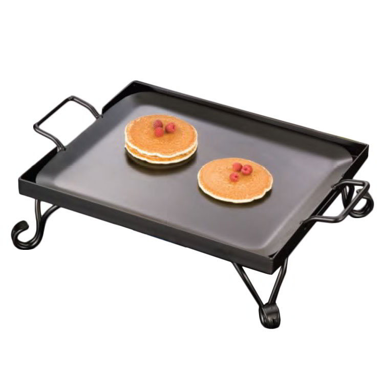 American Metalcraft G61 Square Replacement Iron Griddle