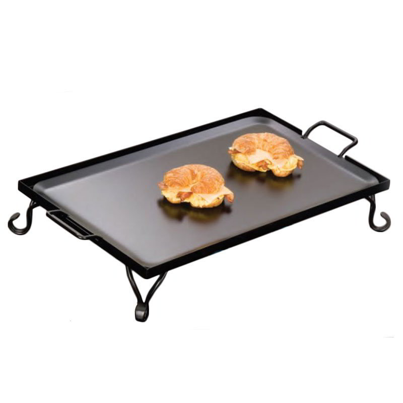 American Metalcraft G72 Rectangular Replacement Iron Griddle 27 in x 16 in x 5 in Restaurant Supply