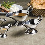 American Metalcraft GB1000 Gravy Boat w/ 10-oz Capacity, Stainless