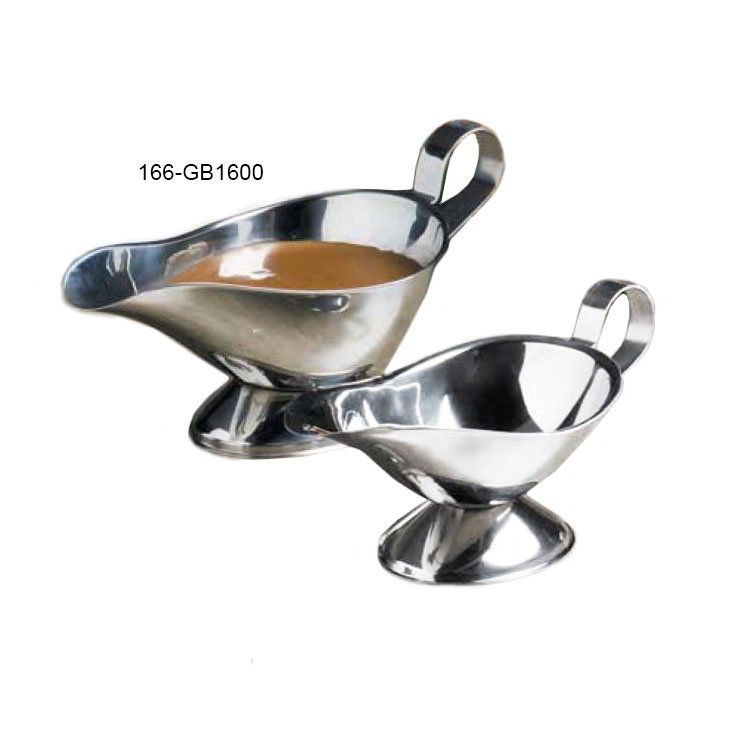 American Metalcraft GB1600 Gravy Boat w/ 16-oz Capacity, Stainless