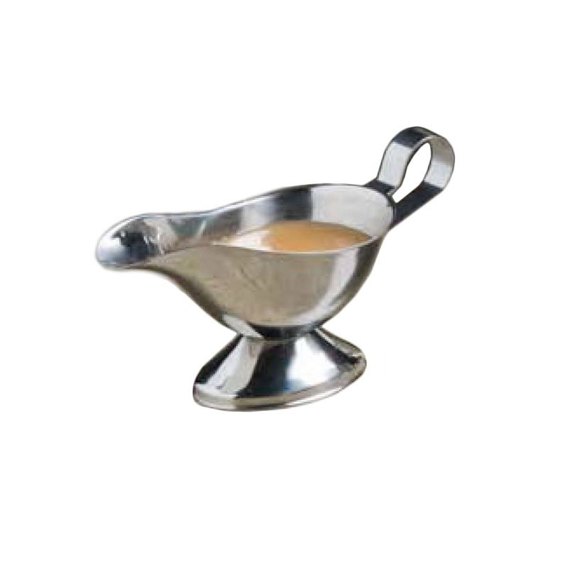 American Metalcraft GB300 Gravy Boat w/ 3-oz Capacity, Stainless