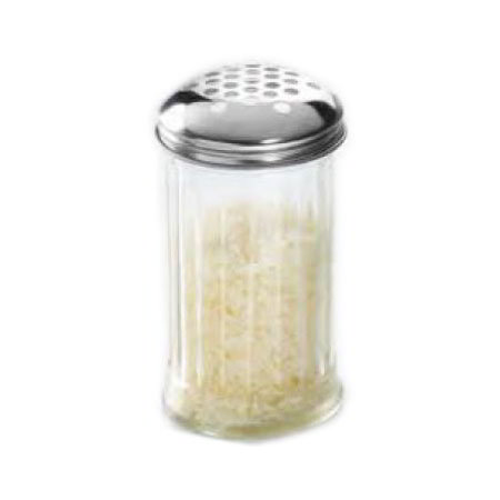 American Metalcraft GLA300 Cheese Shaker Jar w/ 12-oz Capacity, Glass