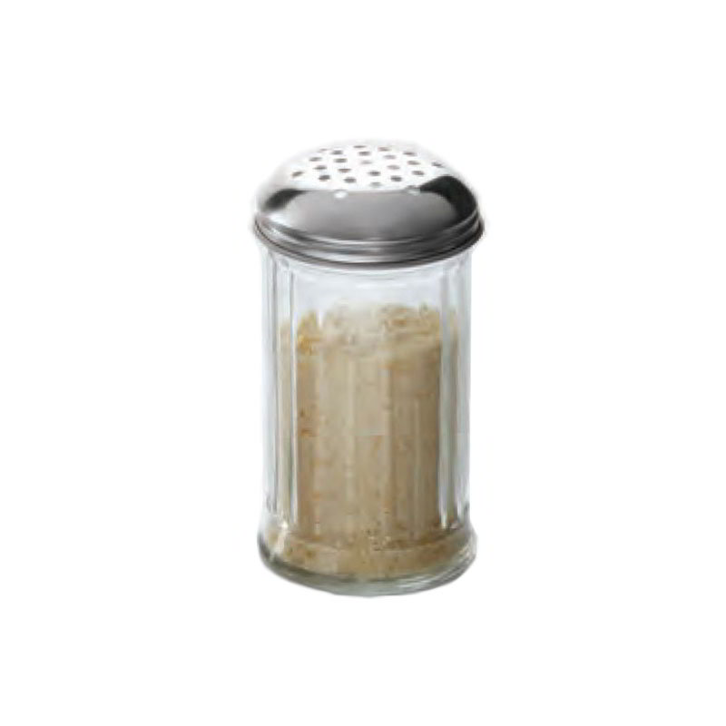 American Metalcraft GLA312 Cheese Shaker w/ 12-oz Capacity, Glass/Stainless