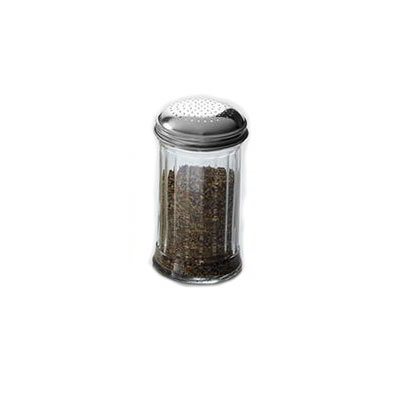 American Metalcraft GLA318 Dredge w/ 12-oz Capacity, Glass/Stainless