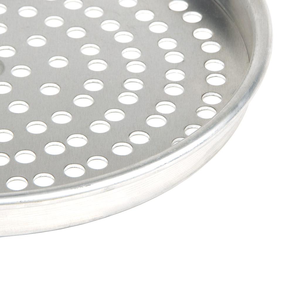 "American Metalcraft SPHA4010 10"" Perforated Pizza Pan - 1"" Deep, Aluminum"