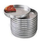 "American Metalcraft HA5114 14"" Self Stacking Pizza Pan, 1.5"" Deep, Aluminum"