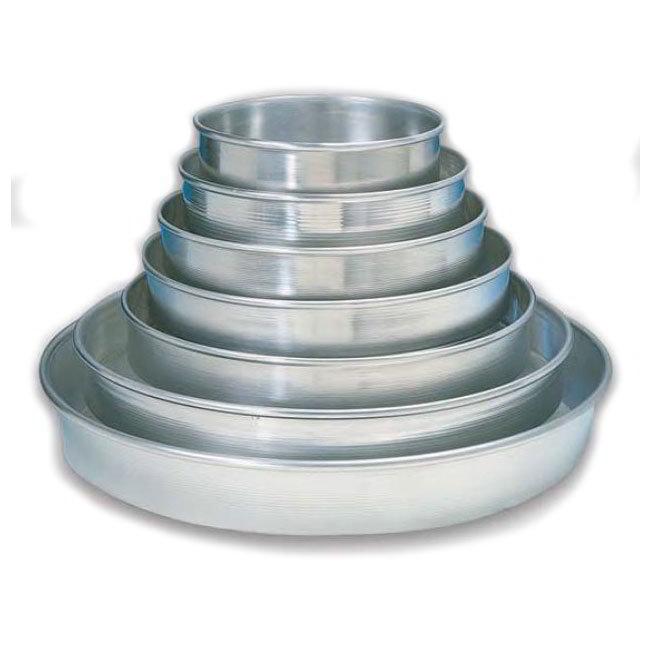 American Metalcraft HA90071.5 7-in Tapered Pizza Pan, 1.5-in Deep, Aluminum