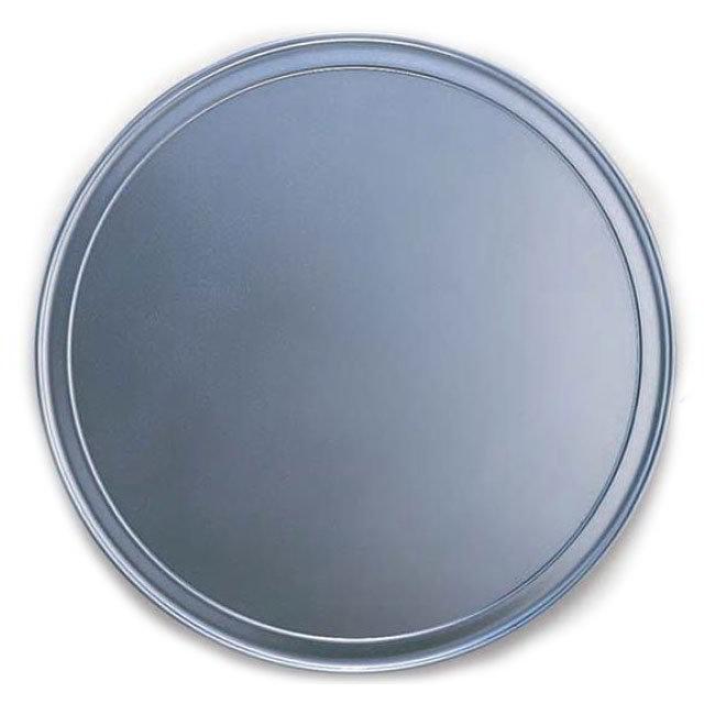 "American Metalcraft HATP14 14"" Wide Rim Pizza Pan, Aluminum"