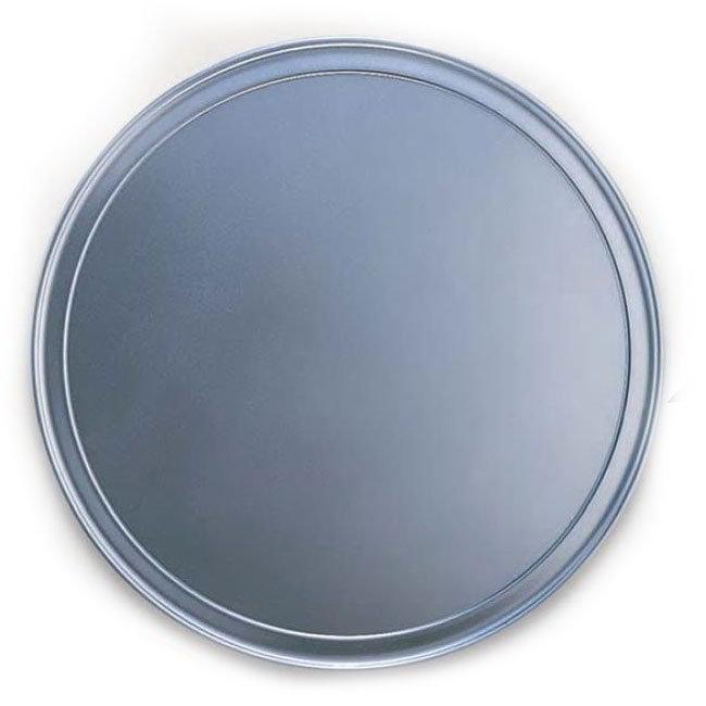 "American Metalcraft HATP7 7"" Wide Rim Pizza Pan, Aluminum"
