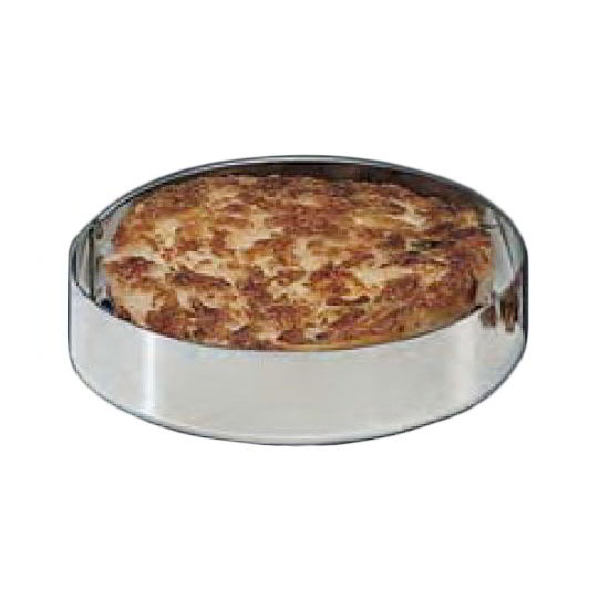 "American Metalcraft HB597 6"" Hash Brown Ring Stainless"