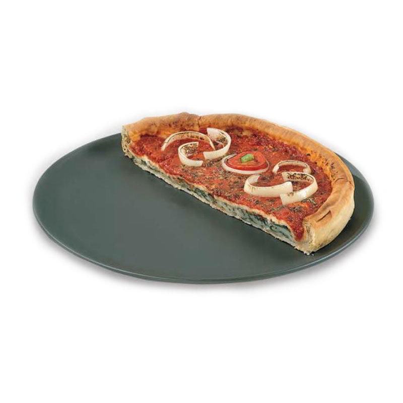 American Metalcraft HCCTP12 12-in Coupe Style Pizza Pan, Hardcoat, Aluminum