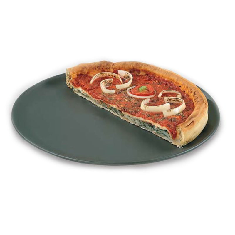"American Metalcraft HCCTP16 16"" Coupe Style Pizza Pan, Hardcoat, Aluminum"