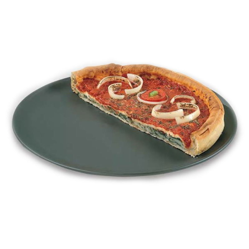 American Metalcraft HCCTP18 18-in Coupe Style Pizza Pan, Hardcoat, Aluminum