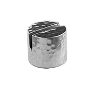 "American Metalcraft HCHD1 Tabletop Card Holder, 7/8""D x 3/4""H, Hammered Aluminum"