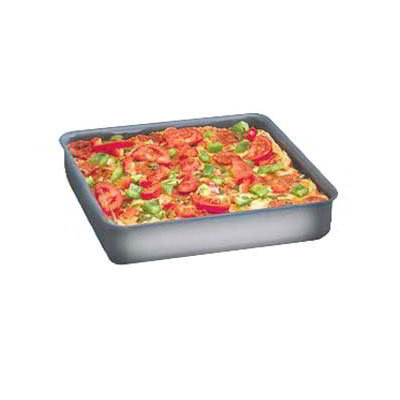 American Metalcraft HCSQ1615 Straight Sided Deep Dish Pan, 1.5-in Deep, 16x16-in, Hardcoat, Aluminum