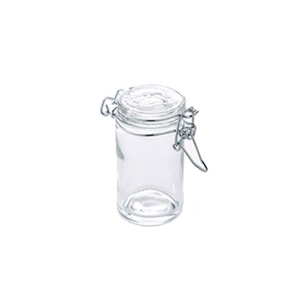 American Metalcraft HMMJ2 2.5-oz Mini Mason Jar with Hinged Lid - Glass