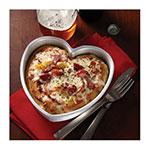 "American Metalcraft HPP7 7"" Heart Pizza Pan - Aluminum"