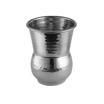 American Metalcraft HV3 12-oz Moroccan Tumbler - Hammered-Finish Stainless
