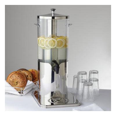 American Metalcraft JUICE5 Mini Juice Dispenser Ice Tube & Faucet, Polycarbonate, Stainless