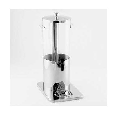 American Metalcraft JUICE5 Mini Juice Dispenser Ice Tube & Faucet, Polycarbonate, Stainless