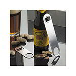 "American Metalcraft LBO27 7"" Bottle Opener, Stainless"