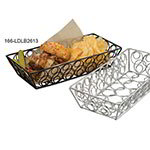 "American Metalcraft LDLB2613 13"" Rectangular Basket, Black"