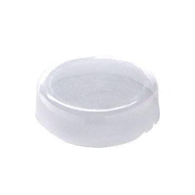 """American Metalcraft LGMB16 2-1/4"""" Round Milk Lid - (GMB16) Clear"""