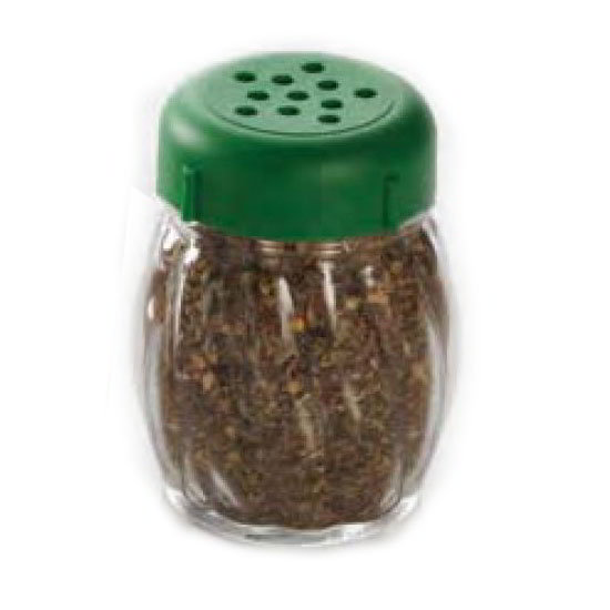 American Metalcraft LXGP 6-oz Lexan Shaker - Perforated Green Lid