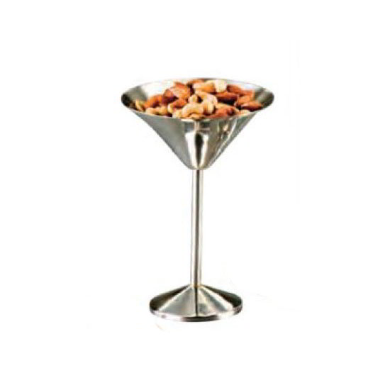 "American Metalcraft MART1 5.37"" Martini Glass Server, Stainless"