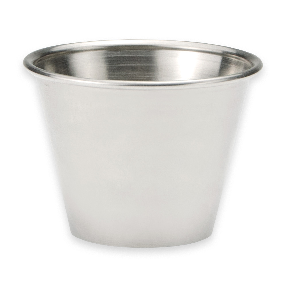 American Metalcraft MB1 Sauce Cup w/ 2.5-oz Capacity, Polished/Stainless