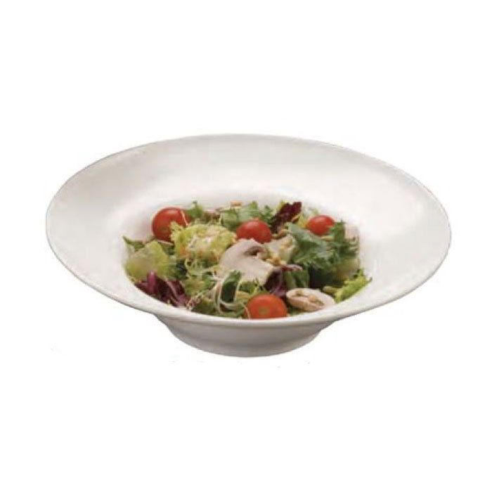 American Metalcraft MEL7 12-in Round Bowl w/ 30.43-oz Capacity, Melamine/White