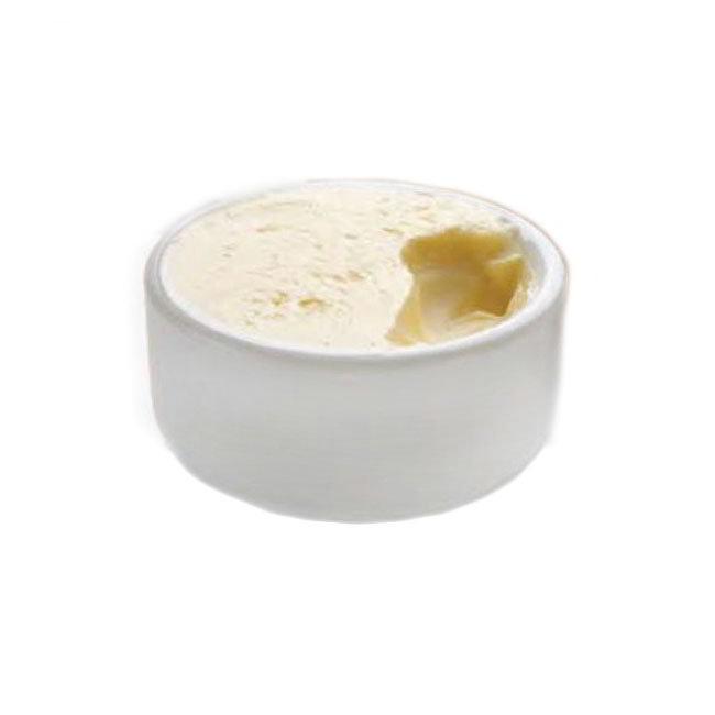 "American Metalcraft MELBPH 2-1/2"" Round Butter Dish - Melamine"