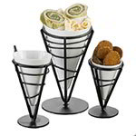 American Metalcraft MELFCW535 5-in Fry Cone w/ 10-oz Capacity, Melamine/White