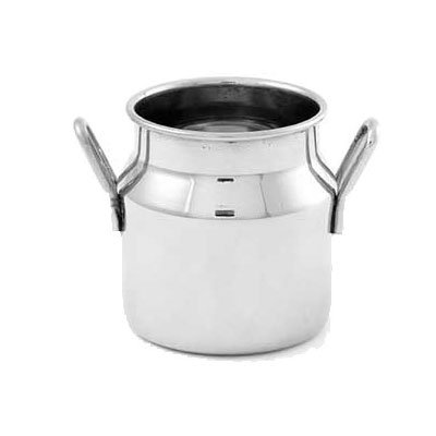 "American Metalcraft MICH25 2"" Round Milk Can w/ 2.5-oz Capacity, Stainless"