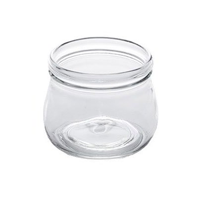 American Metalcraft MJ16 16-oz Glass Mason Jar - Clear