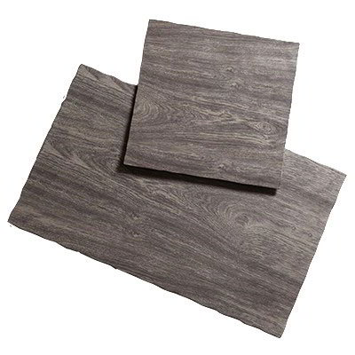"American Metalcraft MPLA Rectangle Serving Board - 21"" x 12.5"", Elm Wood Melamine"