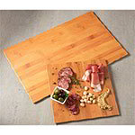 "American Metalcraft MPLB Rectangle Serving Board - 20.87"" x 12.5"", Bamboo Melamine"