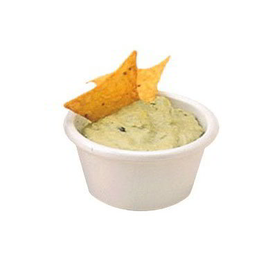 American Metalcraft MRS150W Smooth Sided Ramekin w/ 1.5-oz Capacity, Melamine/White