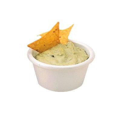 American Metalcraft MRS200W Smooth Sided Ramekin w/ 2-oz Capacity, Melamine/White