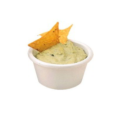 American Metalcraft MRS400W Smooth Sided Ramekin w/ 4-oz Capacity, Melamine/White
