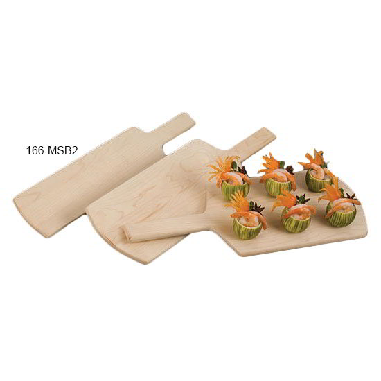"American Metalcraft MSB2 4.25"" Serving Board, Solid, Maple"