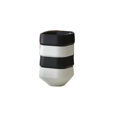 American Metalcraft MSCSB3 3-oz Square Sauce Cup, Melamine, Black