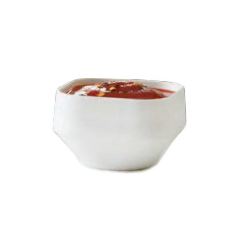 American Metalcraft MSCSW3 3-oz Square Sauce Cup, Melamine, White