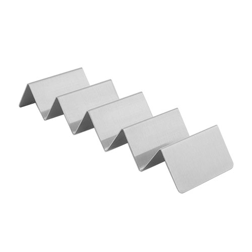 American Metalcraft MTSH5 4 or 5-Compartment Mini Taco Holder, Brushed, Stainless