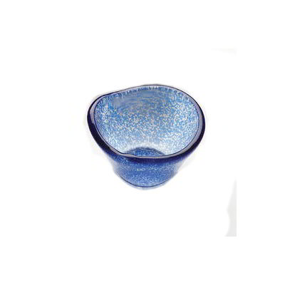 American Metalcraft ORSRBL 2.5-oz Round Sauce Cup, Glass, Blue