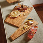 "American Metalcraft OWB208 Rectangular Serving Board - 20x8"" Olive Wood"