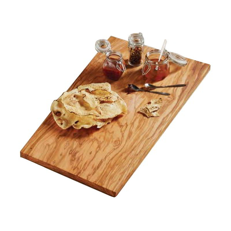 "American Metalcraft OWB2213 Rectangular Serving Board - 22x13"" Olive Wood"