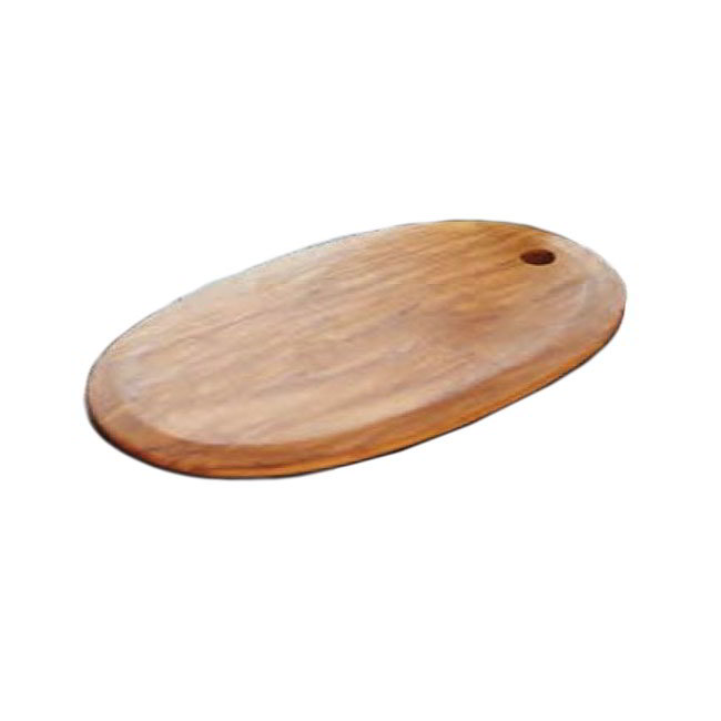 "American Metalcraft OWPB9 Oblong Serving Board, 10"" x 6"", Olive Wood"