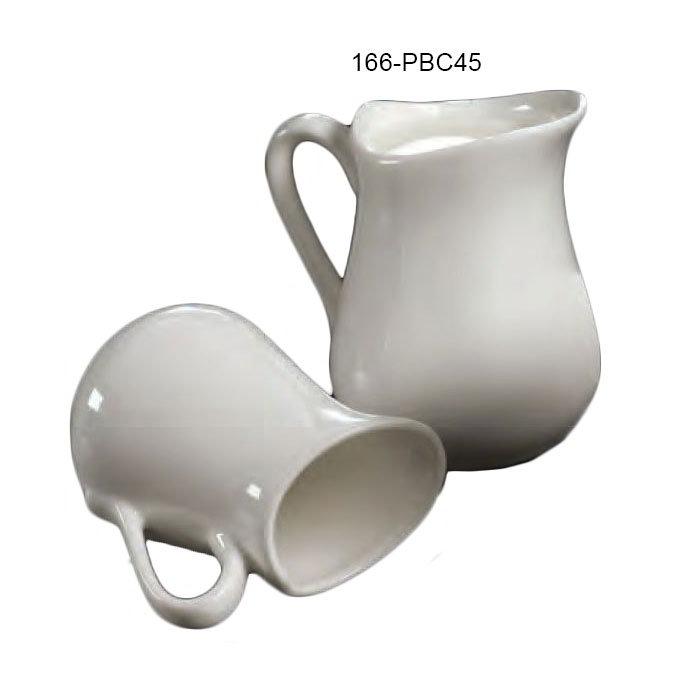 American Metalcraft PBC45 Bell Creamer w/ 4.5-oz Capacity, Porcelain