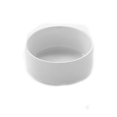 American Metalcraft PJ4 4-oz Round Jar - White Porcelain